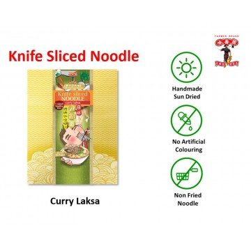 Farmer brand Knife sliced noodle Curry Laksa