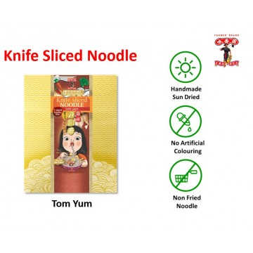 Farmer brand Knife sliced noodle Tom Yum