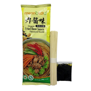 Mennosato Organic Ramen - Fried Soy Bean Sauce (190G)