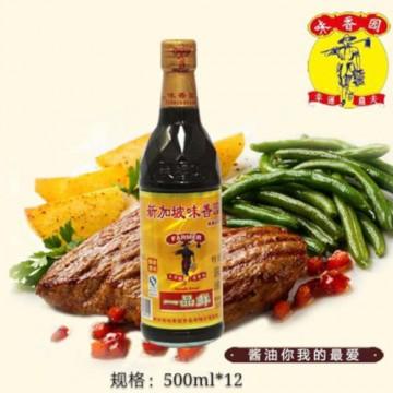 Overseas Farmer Brand Soy Sauce Standard Grade - 500ML