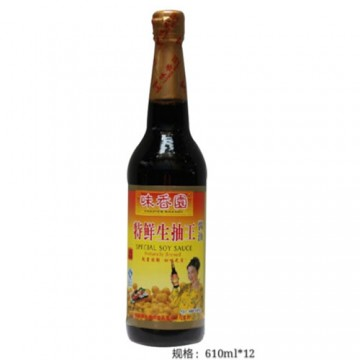 Overseas Farmer Brand Soy Sauce Special - 610ML