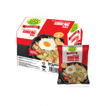 Bihun Kampung Curly Fried Vermicelli - Original Non Spicy Flavour 325G