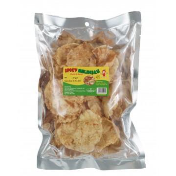 Spicy Belinjao cracker 80G/pkt