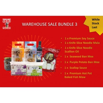 CNY Warehouse Sale Bundle 3