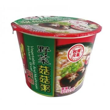 Vegetarian Instant Porridge - Vegetable & Mushroom (37G)