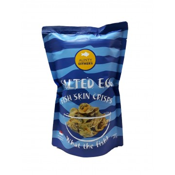 Salted Egg Fish Skin Crisps (100g)