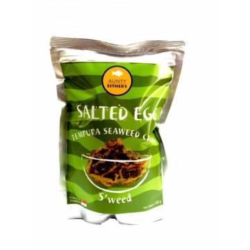 Salted Egg Tempura Seaweed Crisps (100g)