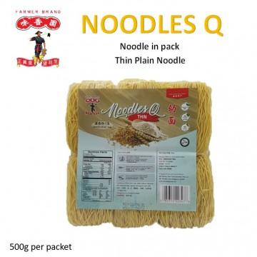 Farmer Brand Noodle Q- Thin Plain noodle (500g)