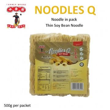 Farmer Brand Noodle Q- Thin Soy Bean noodle (500g)